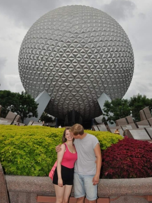 Epcot on a Grey Day