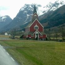 Stave Church, Olden