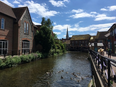 River Avon in Salisbury